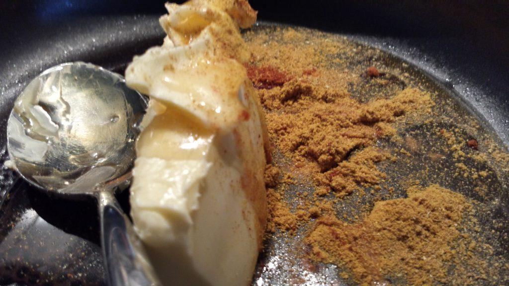 Honig-Curry-Chili-Glasur