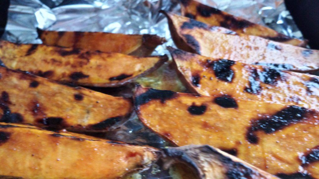 fertige Süßkartoffeln