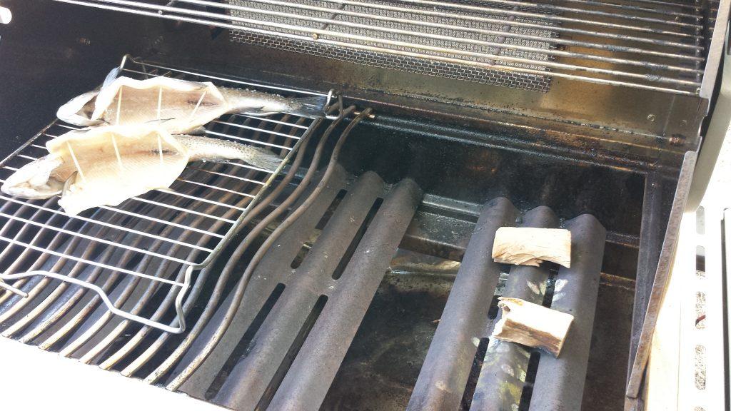 Buchenholz zum heiß räuchern