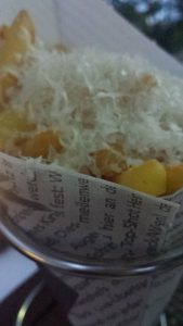 Parmesan-Trüffel-Pommes