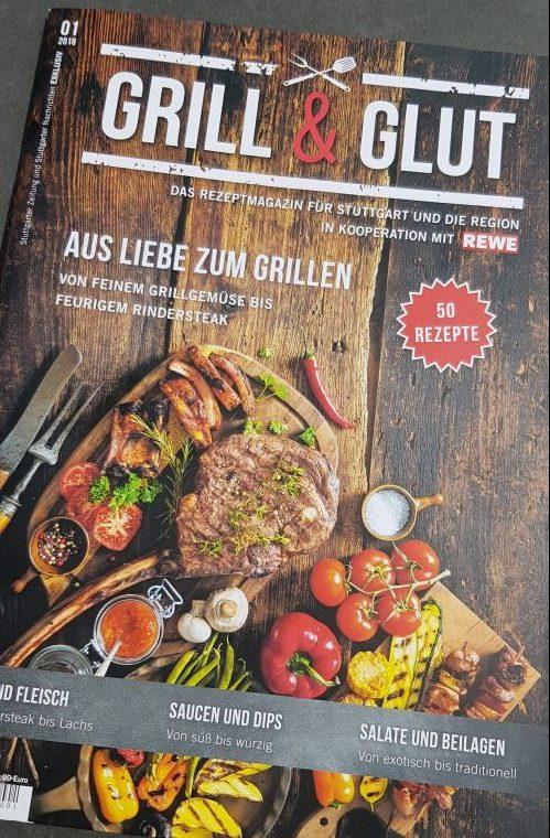 """0711-BBQ im """"Grill & Glut"""" Magazin"""