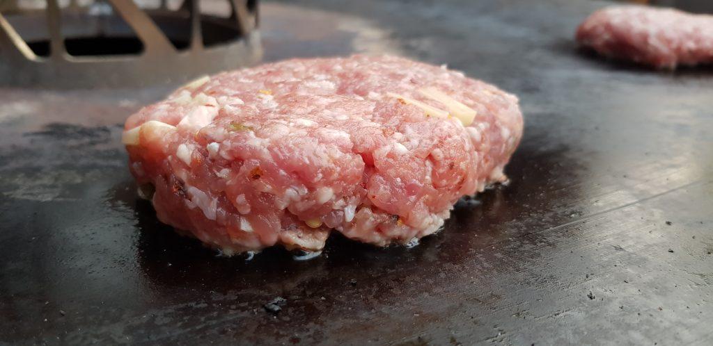 Wurstbrät-Burger