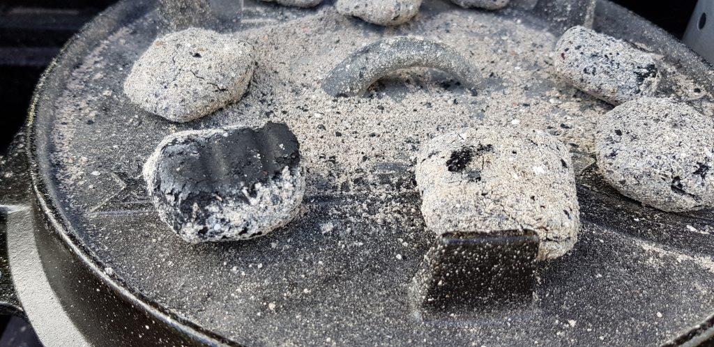 Kohle auch auf dem Deckel