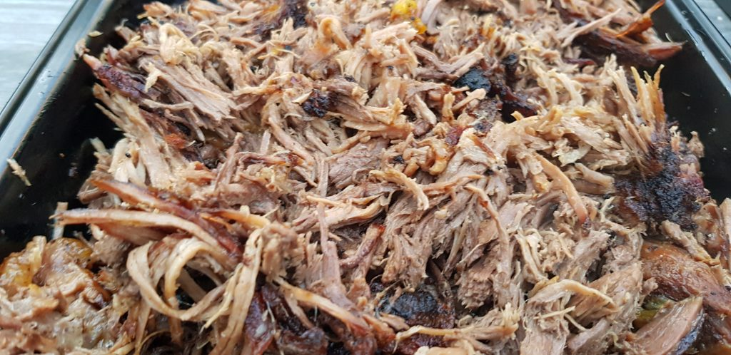 Pulled Beef aus dem Dutch Oven